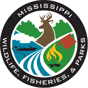 Mississippi Department of Wildlife, Fisheries and Parks logo