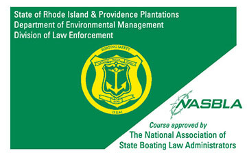 Rhode Island Boating safety education card