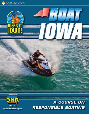 Iowa Boating handbook