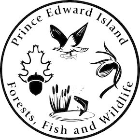 Prince Edward Island Department of Communities, Land and Environment logo