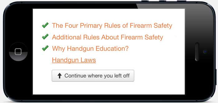 National Handgun Safety Course