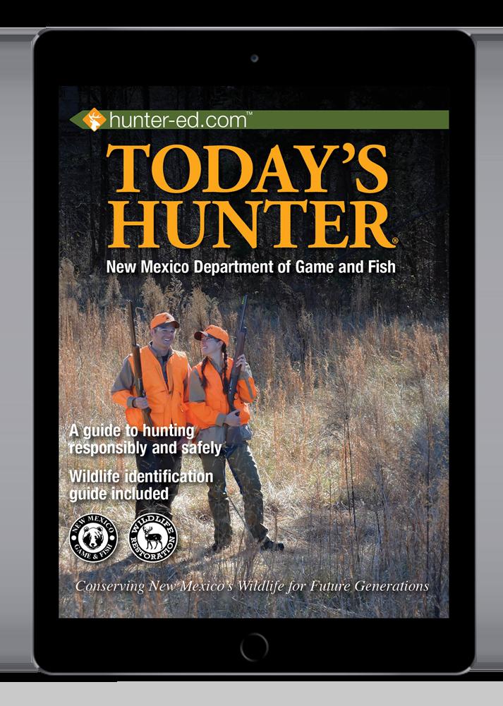 New Mexico hunter handbook cover
