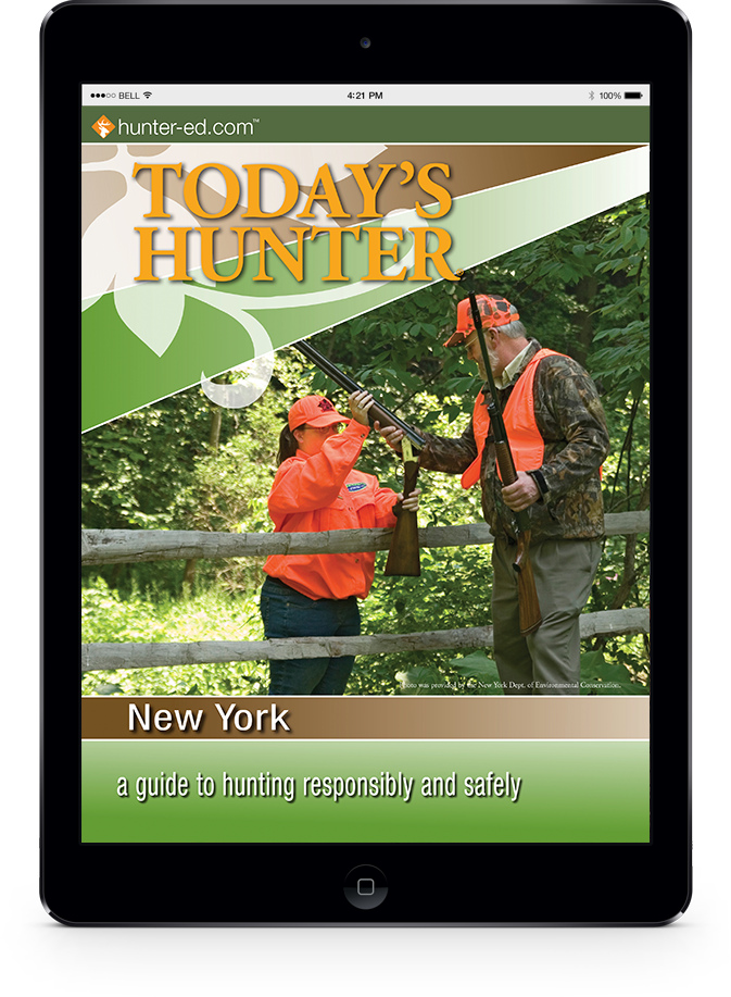 New York hunter handbook cover