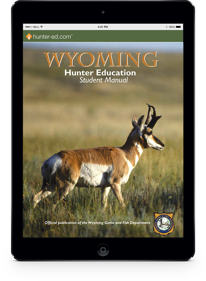 Wyoming hunter handbook cover