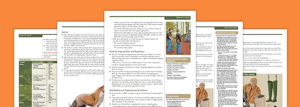 Pages from a Trapper Safety Handbook