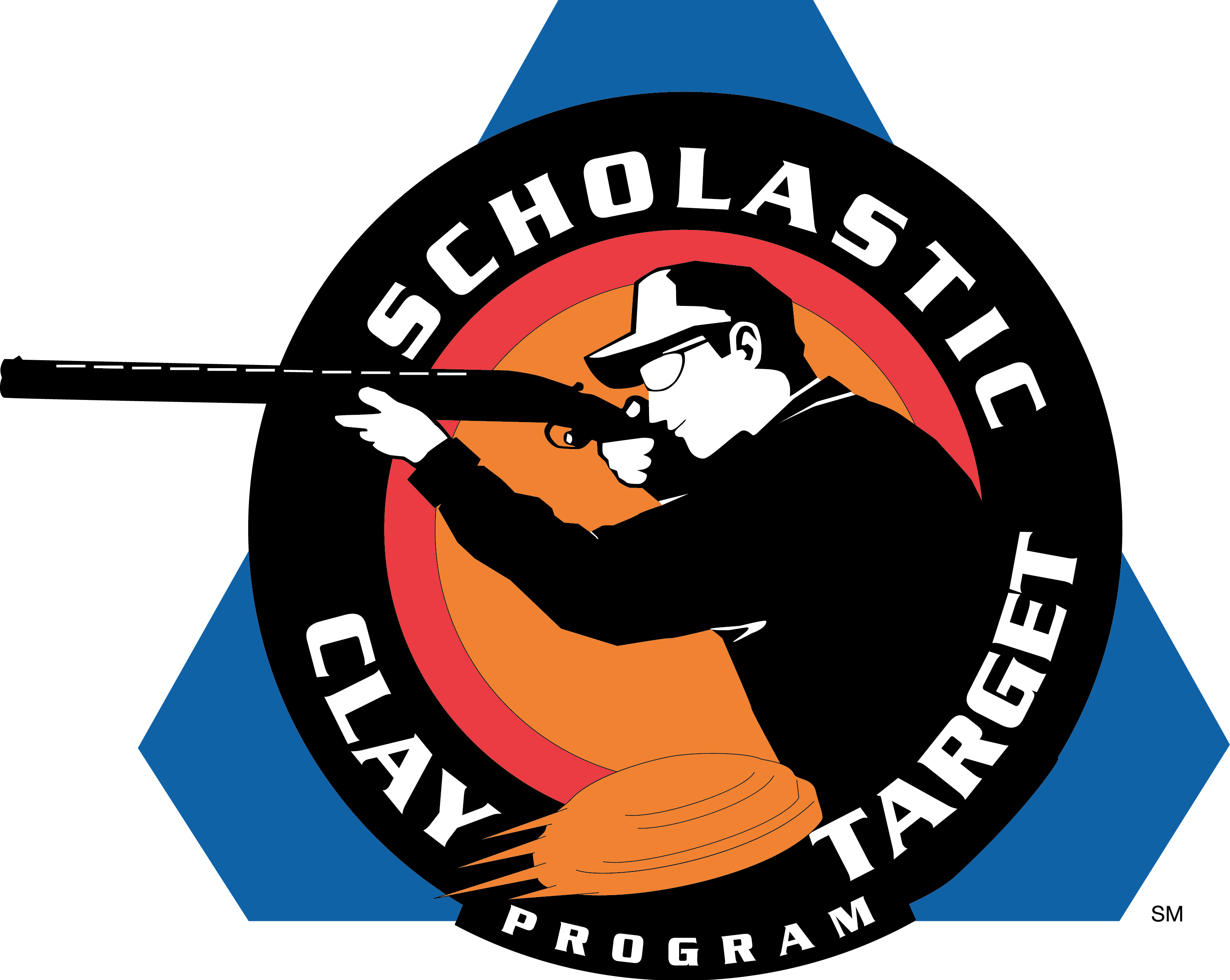 Scholastic Clay Target Program logo